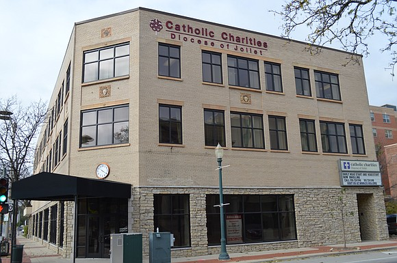 The City of Joliet has approved a re-development agreement for the former Catholic Charities building at 201 N. Ottawa St.