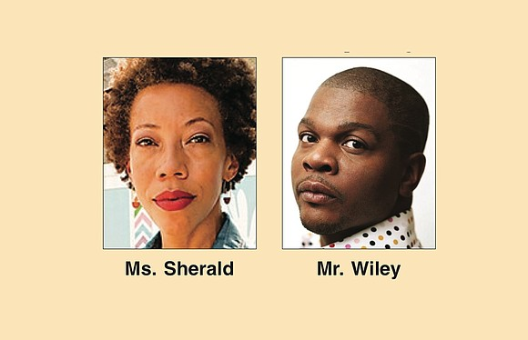 Artist Kehinde Wiley, known for his large, edgy paintings of top music and hip-hop performers such as Michael Jackson, LL ...