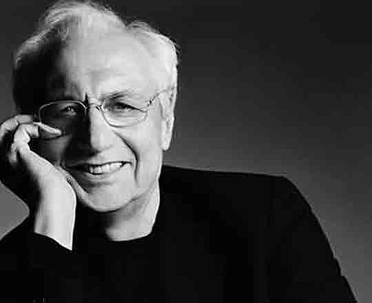 Famed Canadian-American architect Frank Gehry, the mastermind behind the..