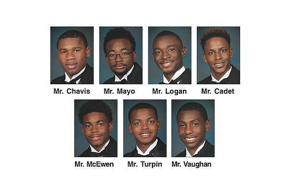 Seven young men will be presented at the 23rd Annual PROC Beautillion on Saturday, Nov. 18, at the Greater Richmond ...