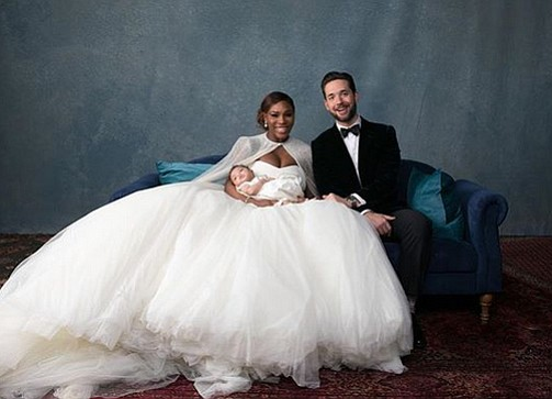 Glitter and glamour were served up at the fairy tale-inspired nuptials last week of tennis star Serena Williams and her ...