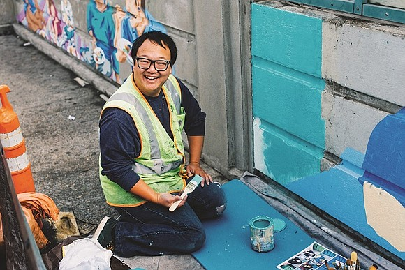 Mural pays tribute to growing diverse culture and ethnicities of east and outer east Portland