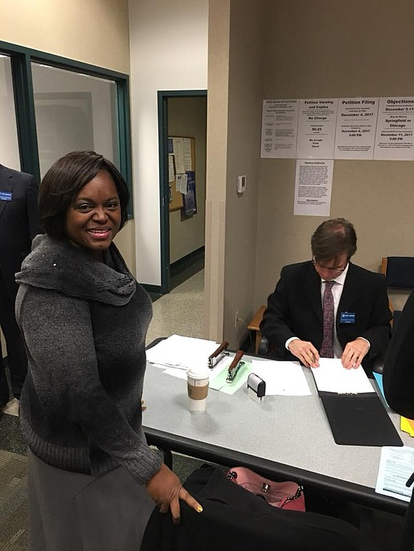 Bolingbrook resident, Alyssia Benford has filed paperwork with the State Board of Elections to run as republican for the 98th ...