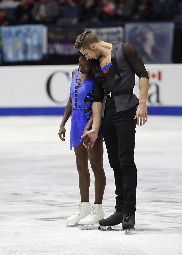 It has been an outstanding autumn for French pairs champions Vanessa James and Morgan Ciprès.