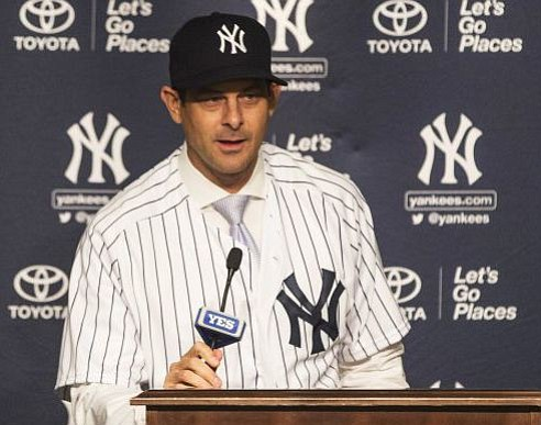 Aaron Boone, who hit one of the greatest, most historic postseason home runs in baseball history as a New York ...