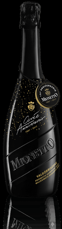Wine of the Week-Mionetto 130th Anniversary Brut Nature Prosecco-$29.95
