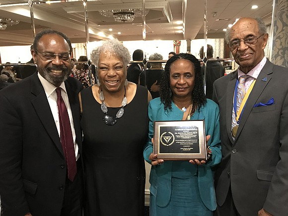 Dr. Brenda M. Greene, chair of the English Department and executive director of the Center for Black Literature at Medgar ...