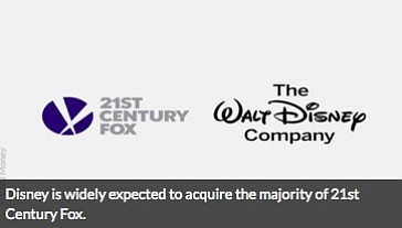 Disney is buying a huge chunk of 21st Century Fox. The $52.4 billion deal will combine two of the biggest ...