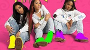 R&B girl group, Riplay from Baltimore has been lauded by Baltimore Mayor Catherine Pugh for their Anti-Bullying and Self-Esteem campaign with a special certificate for their work. (Left to right) Lay, Ki and Shay.