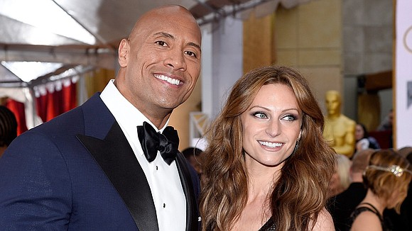 """Dwayne """"The Rock"""" Johnson's life is about to get a lot more pink."""