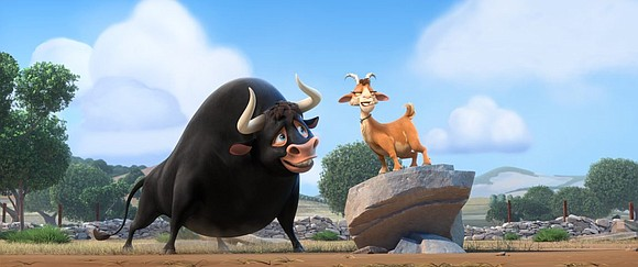 Ferdinand (the voice of John Cena) is giant bull with a gentle heart. His father is a champion matador fighter ...