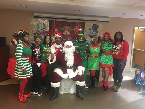 Interfaith Medical Center recently celebrated the holiday season with their annual Winter Wonderland celebration.