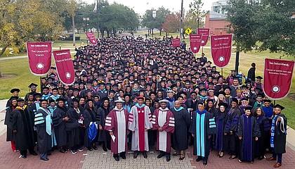 December 2017 Texas Southern University Graduating Class