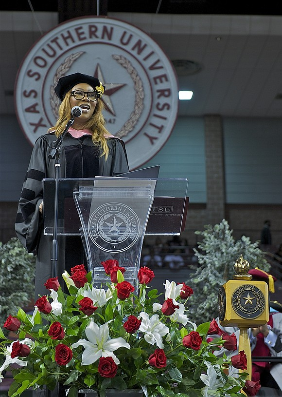 Texas Southern University held its 2017 Winter Commencement ceremony on December 16, conferring degrees to the University's August and December ...