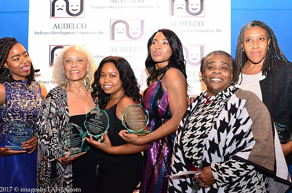 """Oh, what a night! The 45th annual AUDELCO """"VIV"""" Awards recognizing excellence in Black theater was fabulous at Symphony Space ..."""