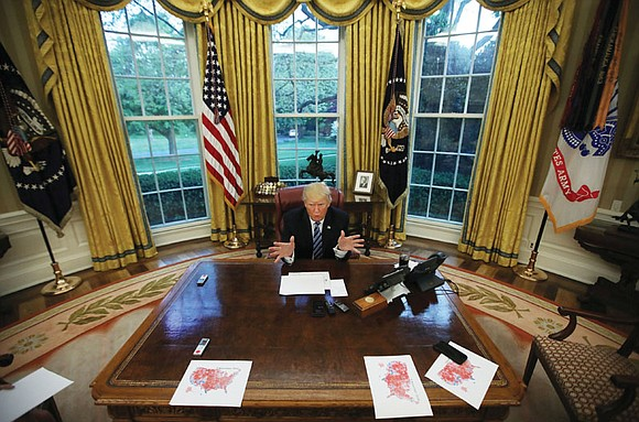 Less than 24 hours after Donald Trump took office, his presidency started generating controversy. Photographs showing that the crowd at ...