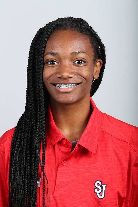Freshmen typically ease into things, but that's not how it happened for Leah Anderson of St. John's University.