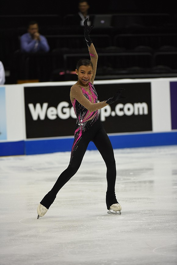 As she makes her national debut in the senior ladies' division at this week's U.S. Figure Skating Championships in San ...