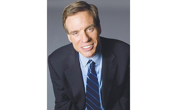 Mark R. Warner, U.S. senator representing Virginia and vice chairman of the Senate Select Committee on Intelligence investigating allegations of ...