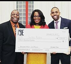 entrepreneur Deidre Mathis won second place at the Texas Black Expo and $1,500