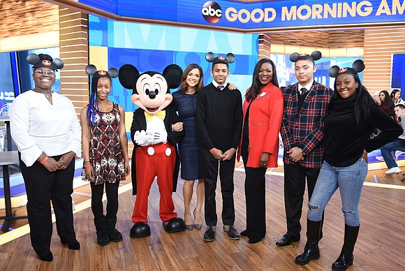 """Five high school students were surprised live on """"Good Morning America'' on Monday with the announcement that they were selected ..."""