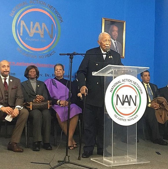 Prominent lawmakers and community leaders took aim at President Donald Trump's racial rhetoric at a commemoration of Martin Luther King ...