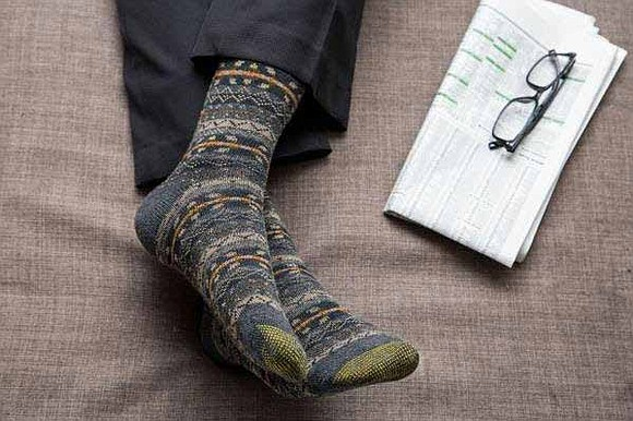 When it comes to men's socks, the season is bringing with it a blend of style and innovation. For instance, ...