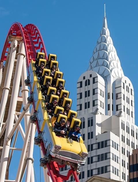 New york new york hotel and casino roller coaster free joker poker slot machine games