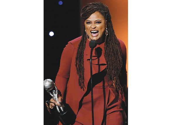 A jubilant Ava DuVernay was named Entertainer of the Year at Monday night's NAACP Image Awards ceremony that focused on ...
