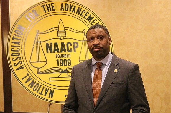 NAACP President and CEO Derrick Johnson speaks on the New York Amsterdam News Podcast about the 2020 election and America's ...