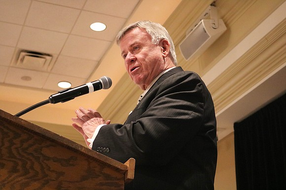 Bolingbrook Mayor Roger Claar shared the Village's accomplishments, as he bid farewell to lives lost in 2017 during the annual ...