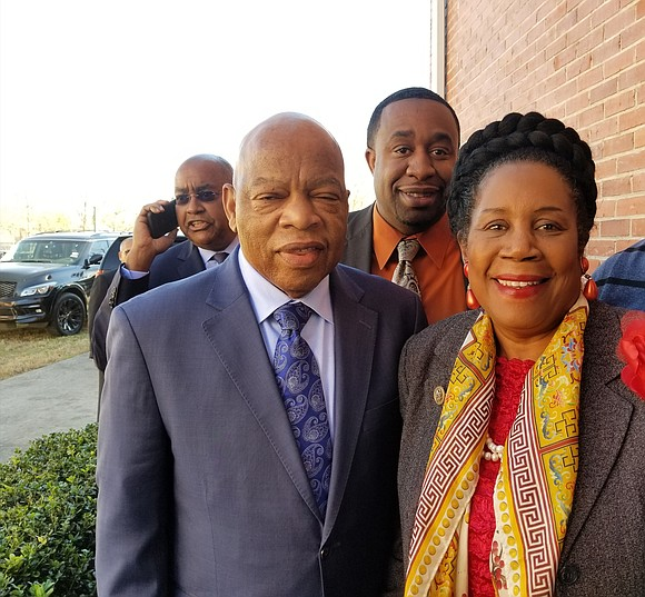 With civil rights icon Rep. John Lewis (D-GA) in attendance, a townhall on criminal justice reform Wednesday became the center ...