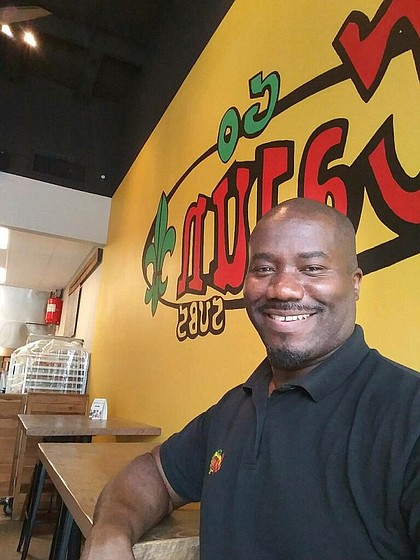 Bobby Narcisse of Go Cajun Subs
