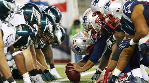 The Philadelphia Eagles take on the defending Super Bowl champion New England Patriots in Super Bowl LII on Sunday, Feb. ...
