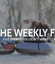 The Forest Preserve District of Will County has created a new weekly email blast to keep forest fans up to date on all of the District's programming and events. Sign up for this free online feature at bit.ly/weekly5email.