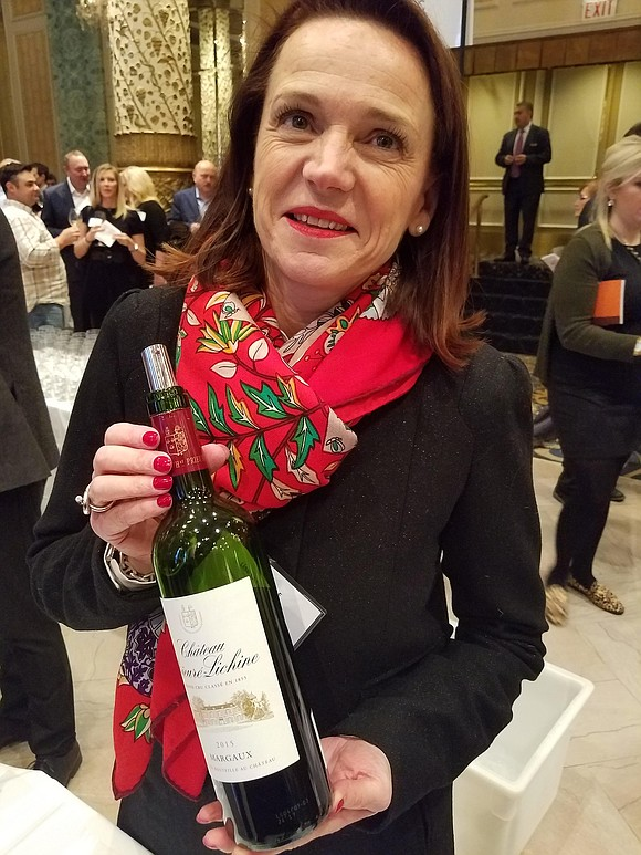 The Union Des Grand Crus De Bordeaux presented a spectacular collection of wines from this French capital of winemaking during ...