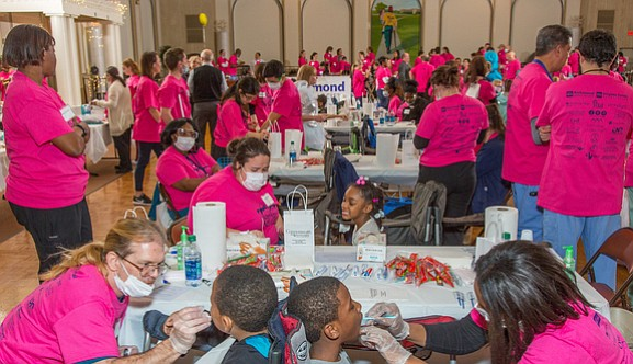 """Give Kids a Smile"" is the theme of an annual one-day program in Richmond and across the country to provide ..."
