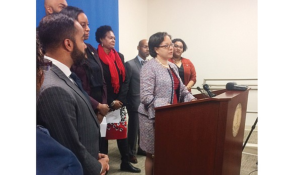 Capital News Service The Virginia Legislative Black Caucus was joined Monday by a bipartisan group of state legislators supporting bills ...