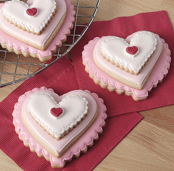 Treat family, friends and co-workers to something they will all love this Valentine's Day by making easy and impressive cookies. ...