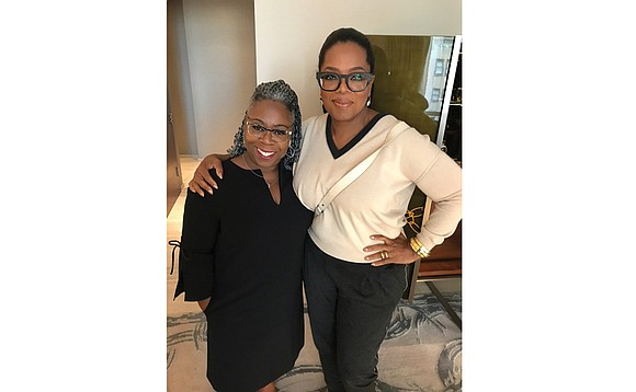 Oprah Winfrey has taken her look to the next level, thanks to Yolanda James, a Richmond native and eyewear boutique ...