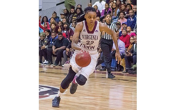 """You might say Alexis Johnson has become the """"Lady Walker Part Two"""" story for Virginia Union University basketball."""