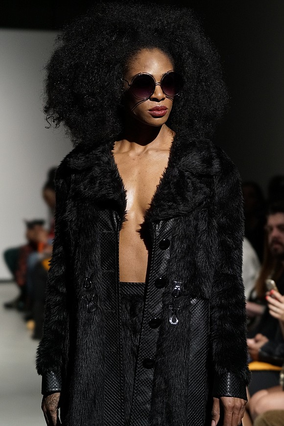 At 393 NYC, Negris LeBrum's fall/winter 2018 presentation was a smash hit Sunday, Feb. 11. For this season, the Houston-based ...