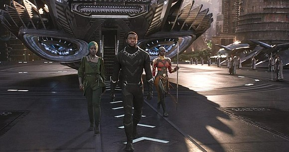 "Fresh off a big win at Sunday's Screen Actors Guild Awards, ""Black Panther"" is headed back to theaters -- and ..."