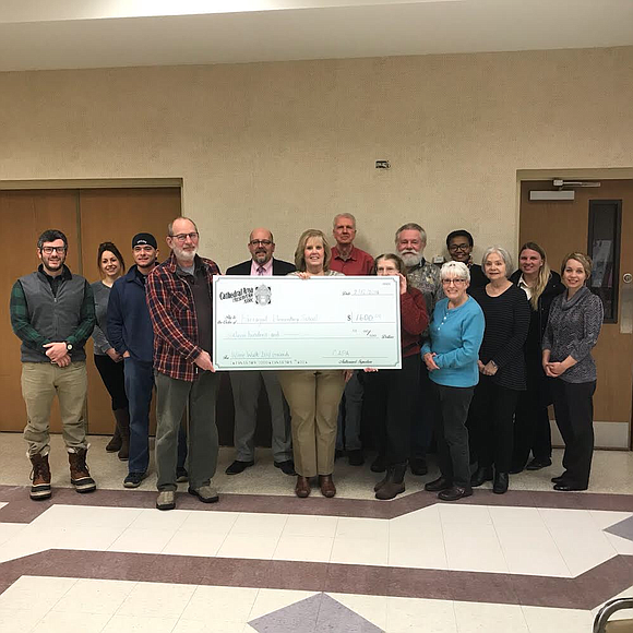 The Cathedral Area Preservation Association (CAPA) Board of Directors presented a $1,600 donation to support education at Farragut Elementary School ...