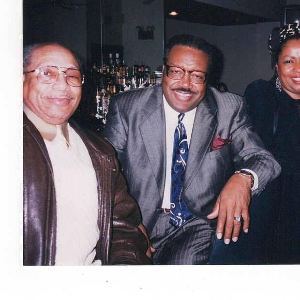 Friends hanging out at Arch Social Club with Jerry Owens, Big Jim, Sandi Malory and her sister Elsie Lockhart