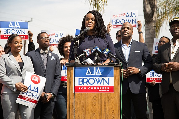 On March 8, 2018, Compton Mayor Aja Brown announced her candidacy for...