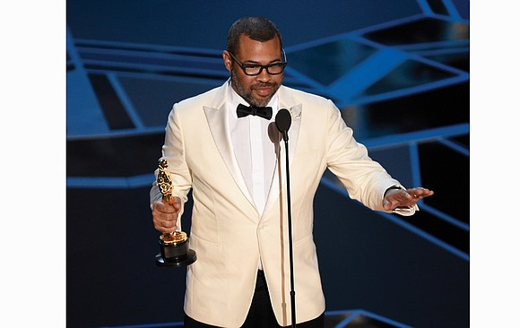 Film writer and director Jordan Peele made history Sunday night when he took home the Academy Award for best original ...