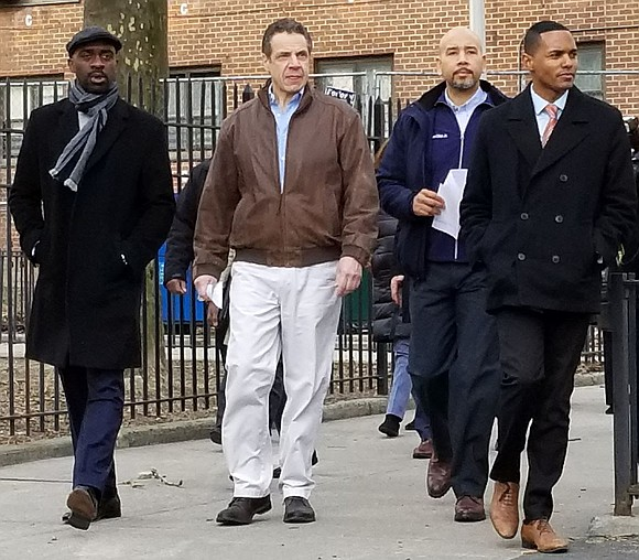 Gov. Cuomo is now stepping into the ongoing saga of issues facing NYCHA and calling on the state health department ...
