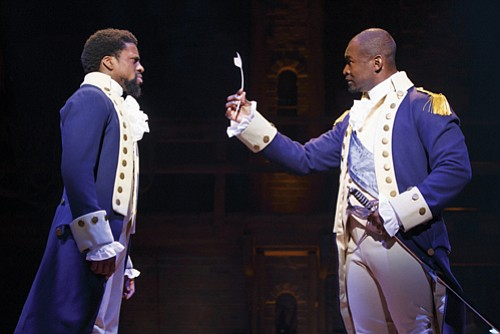 'Hamilton,' the hip-hop smash hit Broadway musical that retells the story of the founding of America, begins its Portland premiere ...