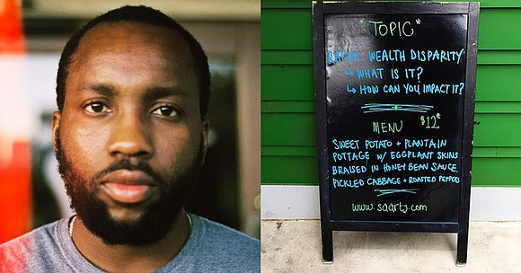 A Black chef and restaurant owner in New Orleans charges Black customers...